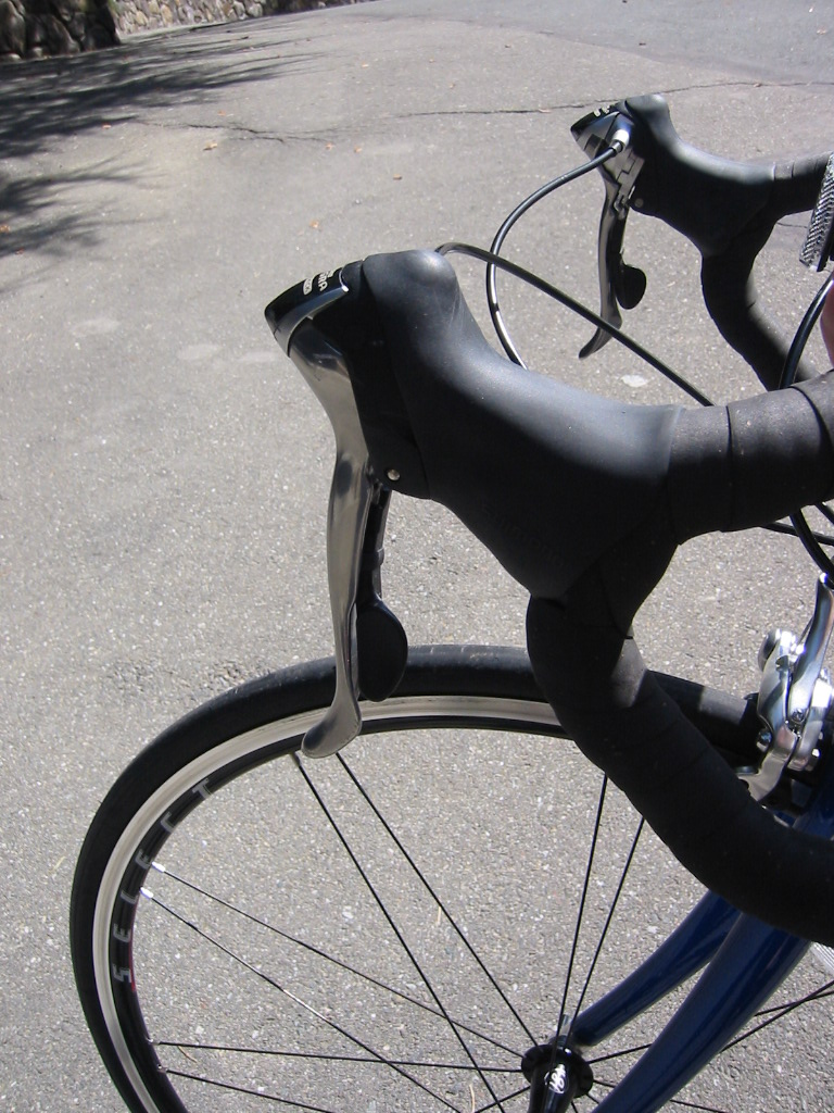 Bike Gear Shifting front to a larger gear